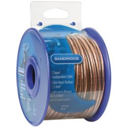 Bandridge BRM1520 OFC 20m Speaker Cable - Bandridge Blue Speaker Wire | Cables4all